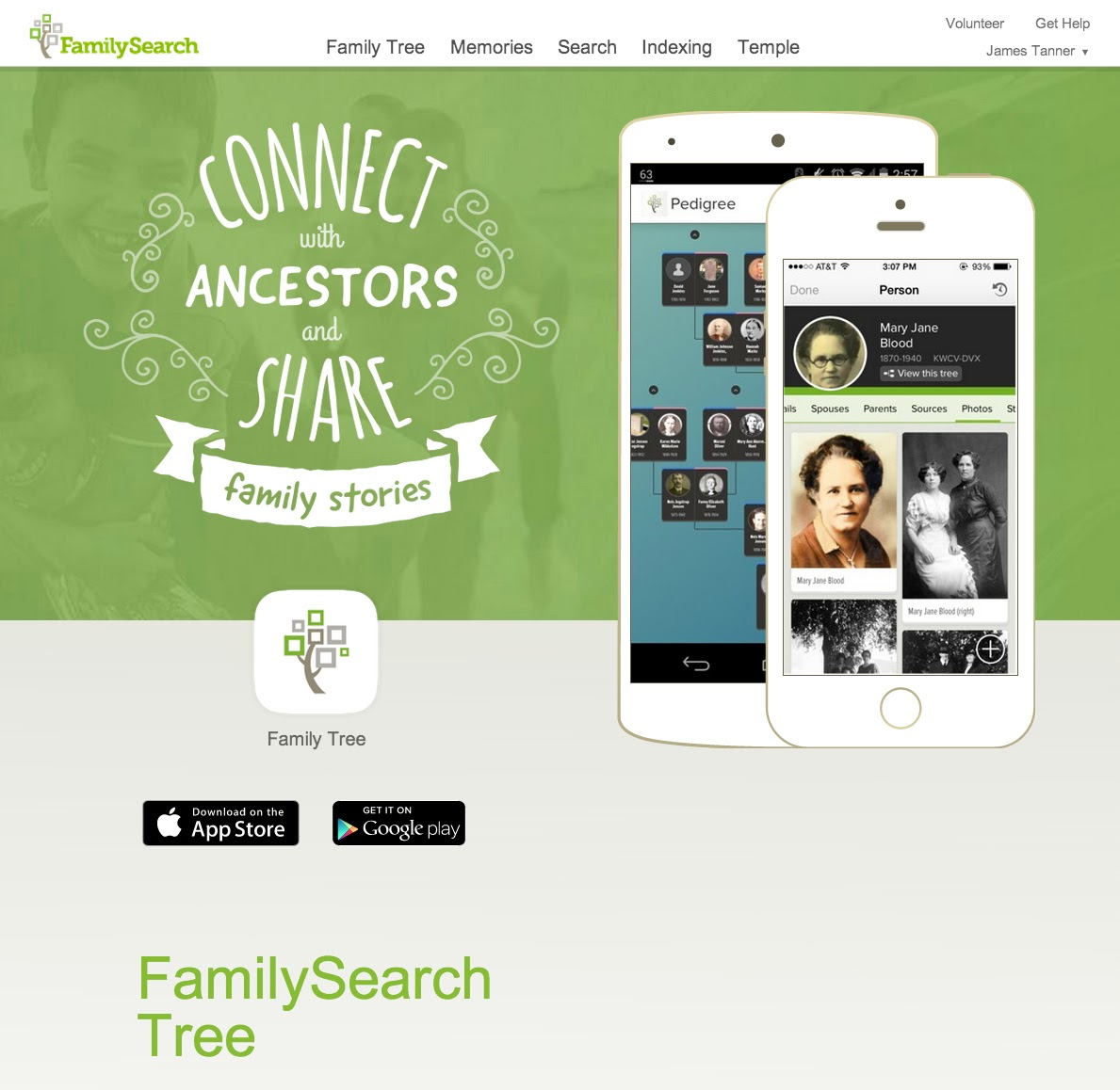 Image result for familysearch tree app