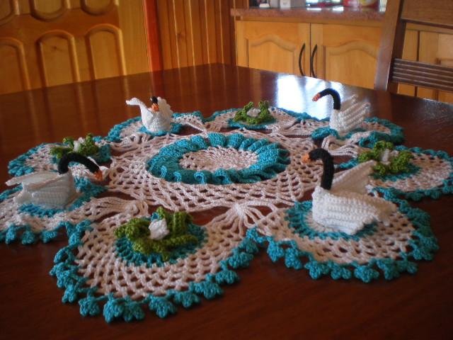Como Tejer Mantel A Crochet De Noche Buena   apexwallpapers.com