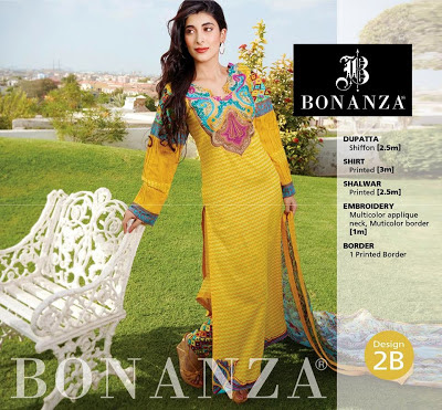 Bright and Soft Yellow Lawn Suits With Multicolored Embroidery