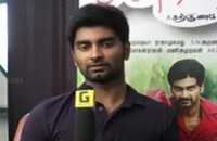 Atharvaa's exclusive talk