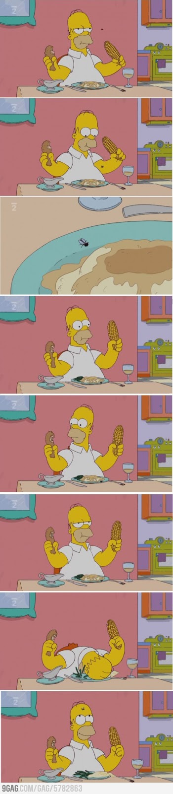 Just Homer Being Homer