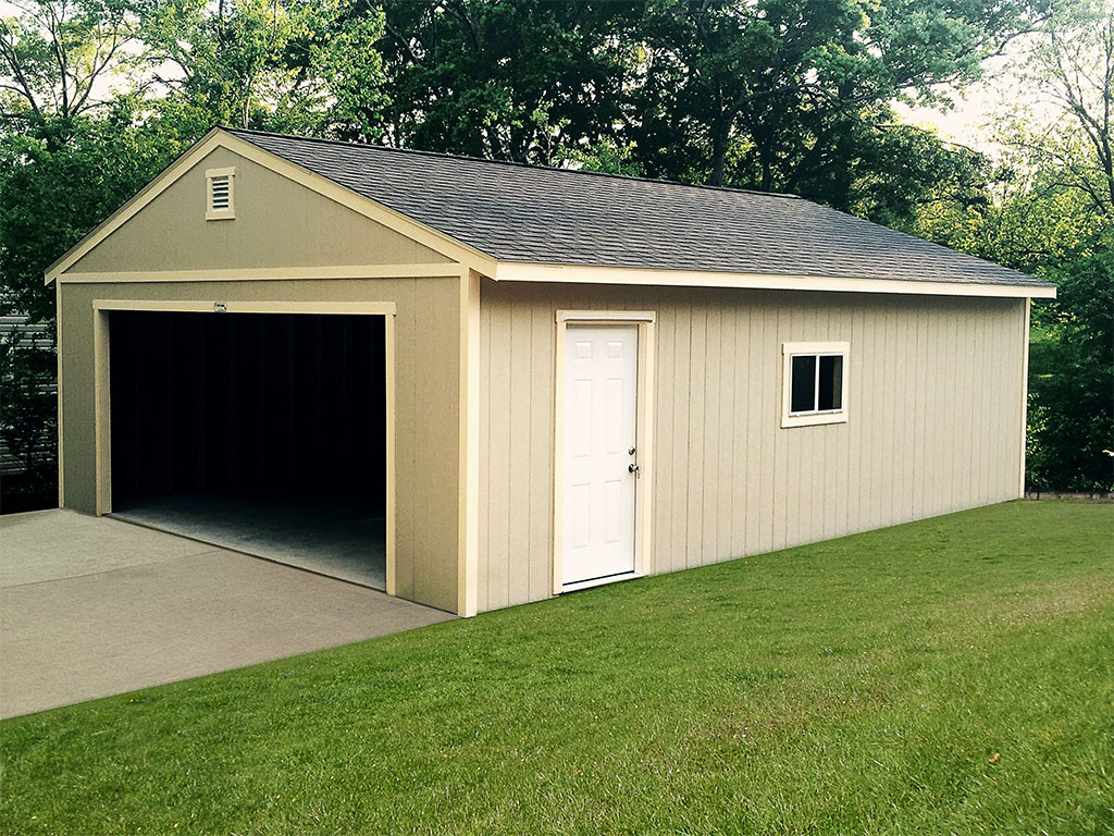 Tuff shed at the home depot june monthly features for Two car garage shed