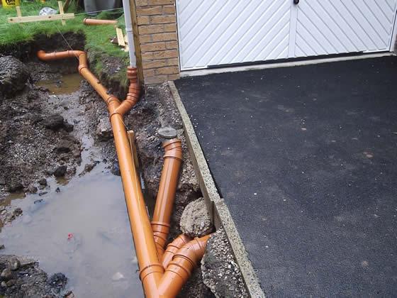 Underground drainage maintance level 2 for One pipe drainage system