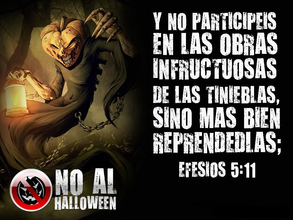 di no a halloween