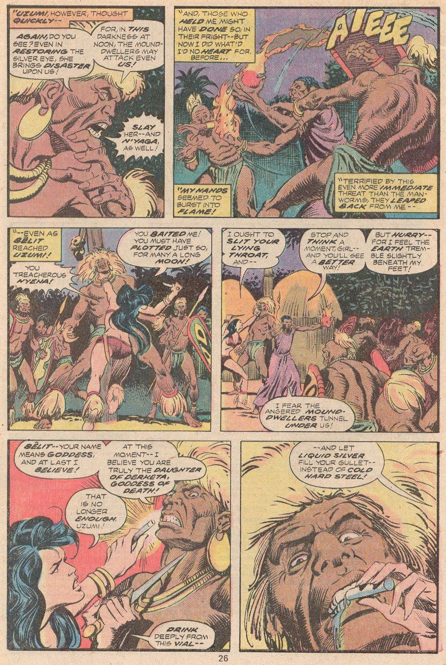 Conan the Barbarian (1970) Issue #59 #71 - English 17