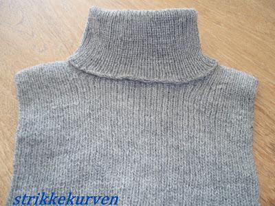 opskrift på strikket halsedisse