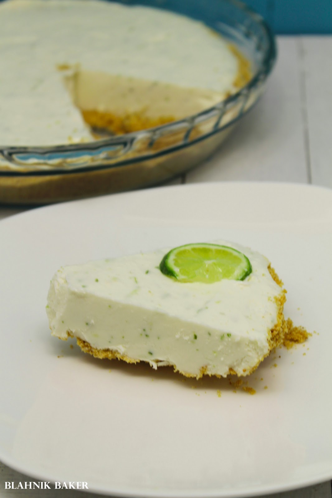 Frozen Lime Margarita Pie {Pass the Cook Book Club}