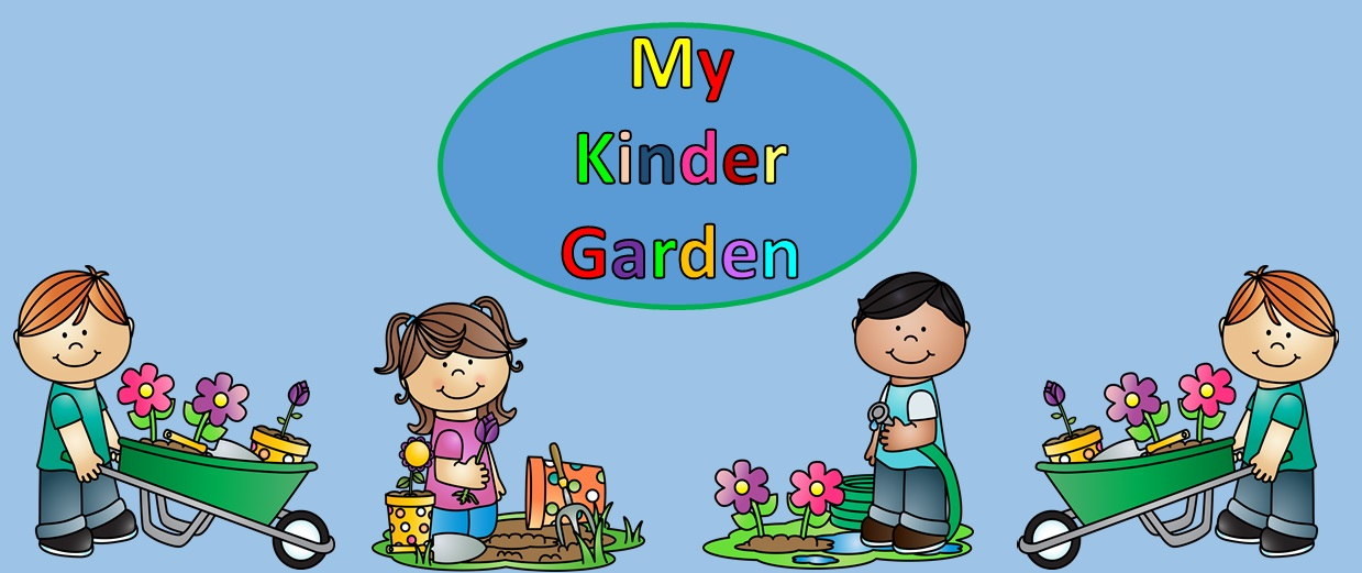 My Kinder Garden Blog
