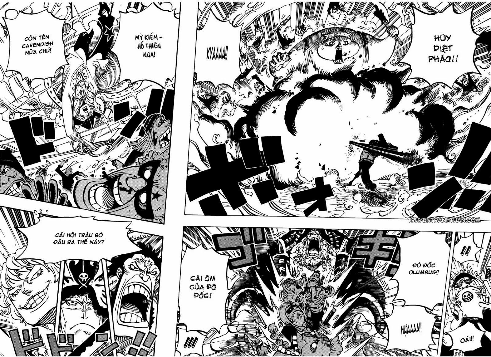 one piece truyentranhtuan com chap 749 trang 005, One Piece chap 749   NarutoSub