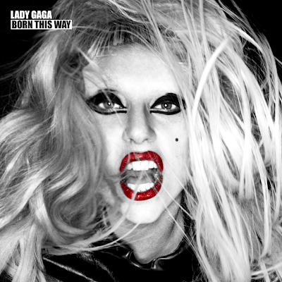 lady gaga born this way album cover. hairstyles Lady Gaga surprises