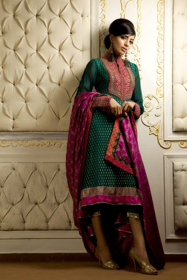 New party wear dresses 2012 2013 fashion mantra