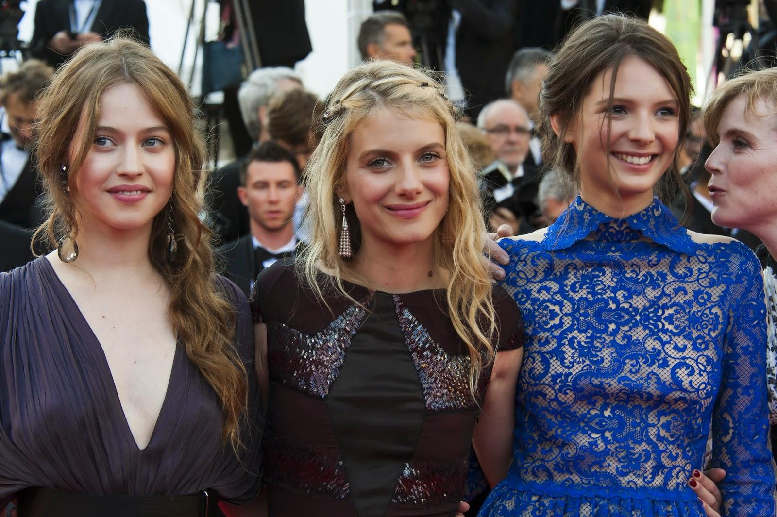 Lou de Lâage, Mélanie Laurent et Joséphine Japy
