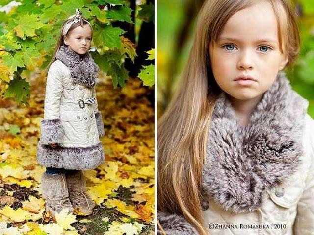 Kristina Pimenova, A 4 Year Old Model