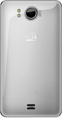 Micromax Canvas Doodle A11 Back View