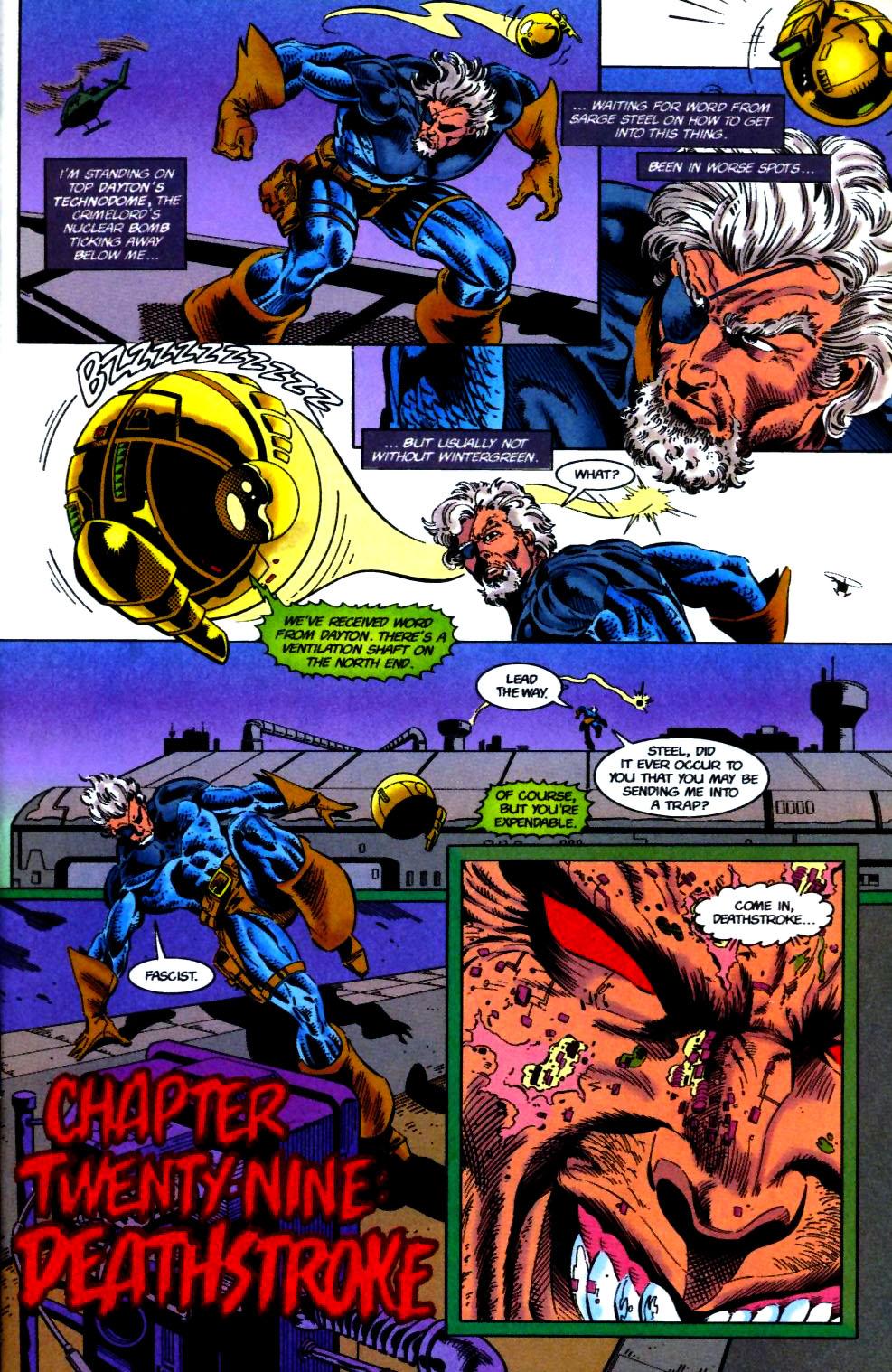 Deathstroke (1991) Issue #50 #55 - English 2