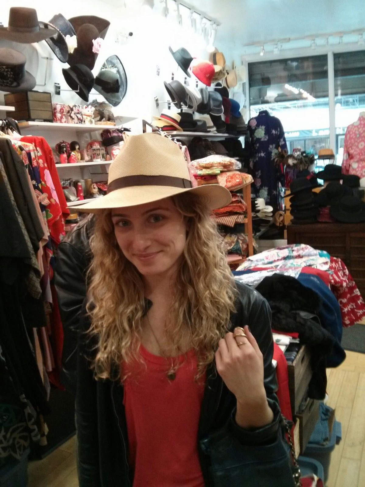 Ladies Panama Hat in SoHo NYC