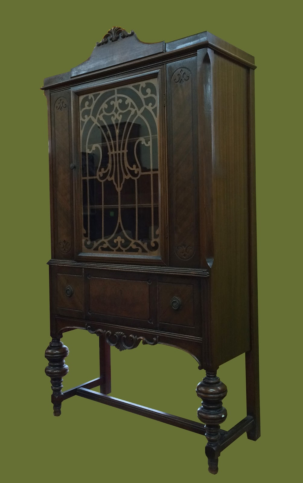 uhuru furniture & collectibles: vintage 1930s walnut dining room