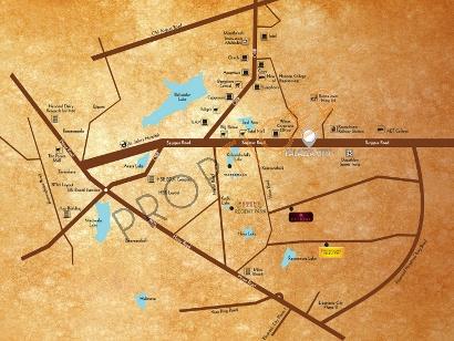 Sjr Primecorp SJR Palazza City Location Plan