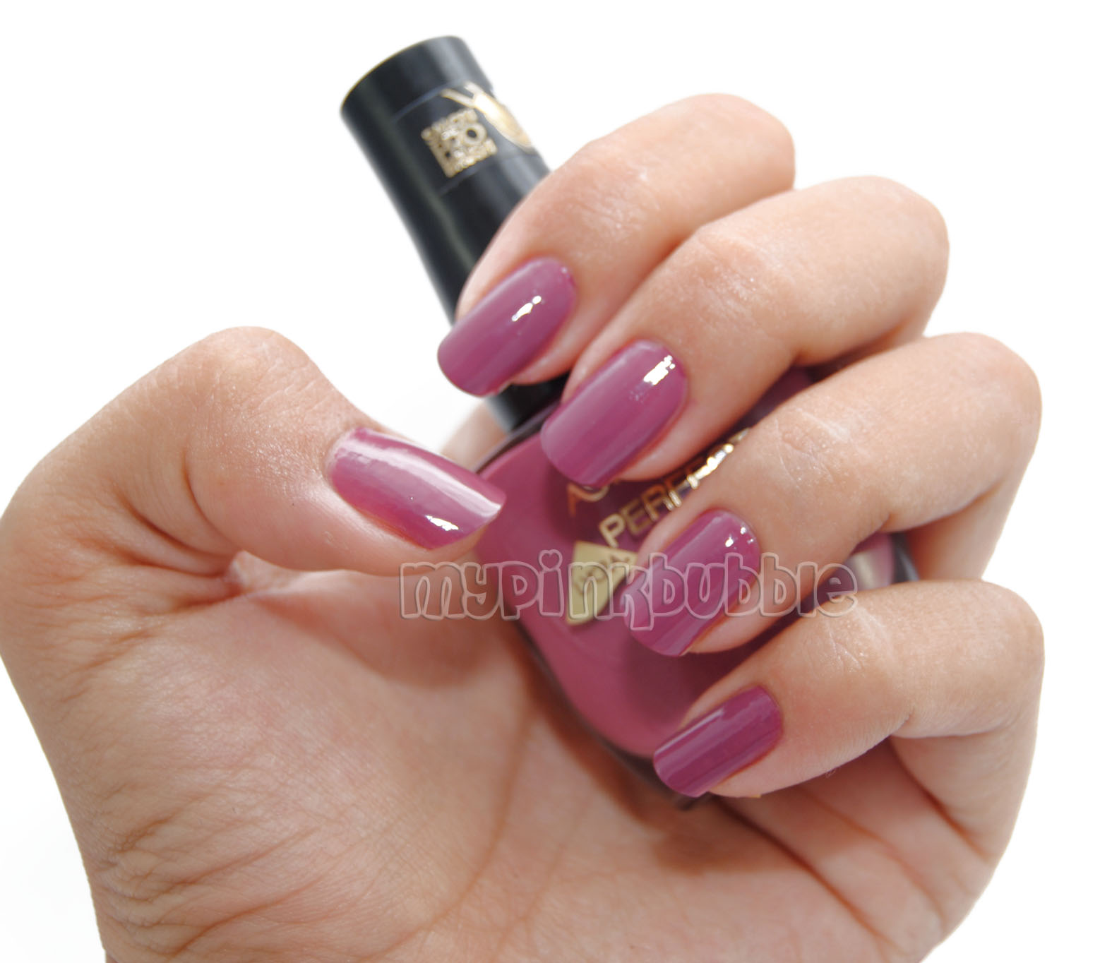 Esmalte Astor perfect stay 406 vintage rose swatch