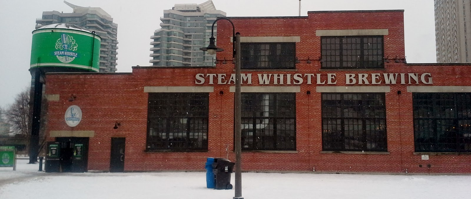Steam Whistle Winter Farmers Market in Toronto Beer brewery lifestyle fashionblogger event food fresh fruit meats and cheeses every Suday
