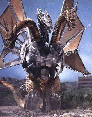 Godzilla Vs Mecha King Ghidorah Lone Star State of Min...