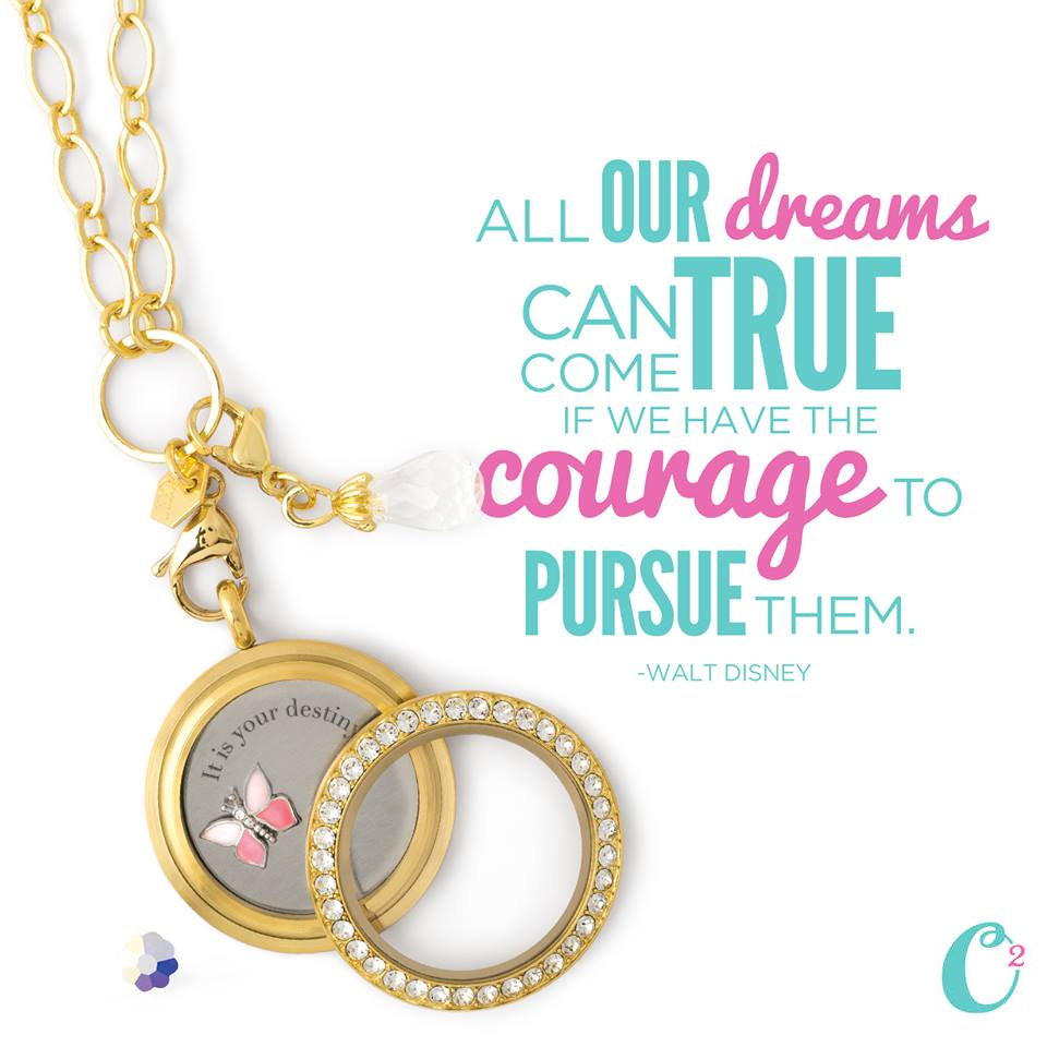 It's Your Destiny Inscriptions Origami Owl Living Locket available at StoriedCharms.com