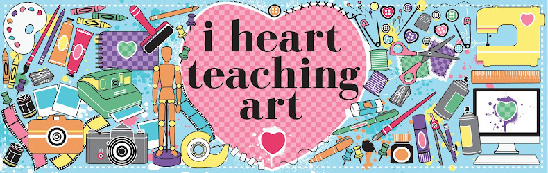 i heart teaching art