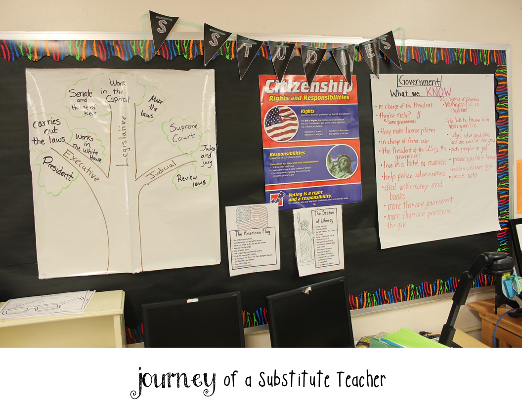 journey of a substitute teacher my