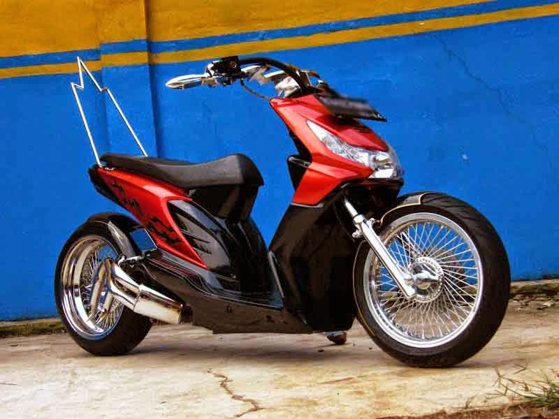Modifikasi Honda Spacy PGM