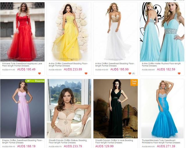 Vestidos Formais On-line Melbourne