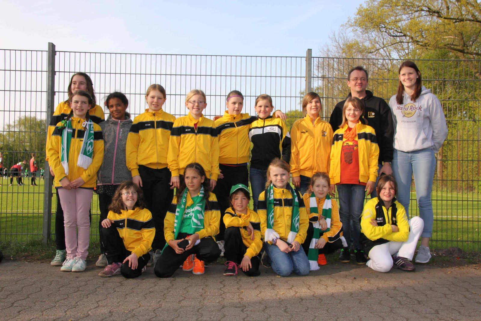 Team E2 Mädchen 2015/2016