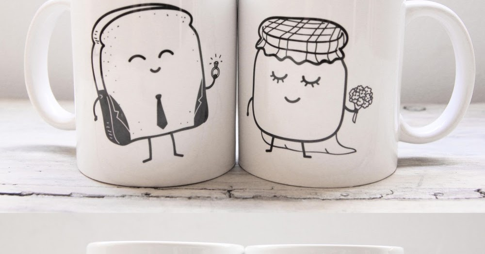 Tazas para novios muy molonas de mr wonderful my for Decoracion tazas mr wonderful