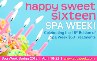 Happy Sweet Sixteen to Spa Week! Have You Booked Your Treatment Yet?