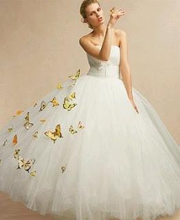 Vestidos de Novias con Mariposas