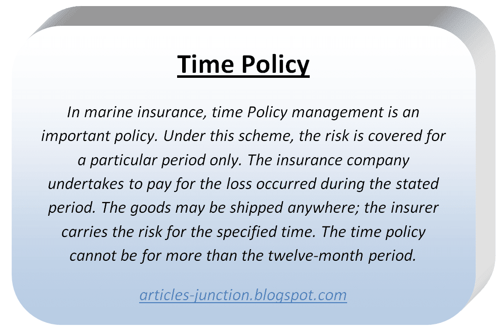 Time Policy