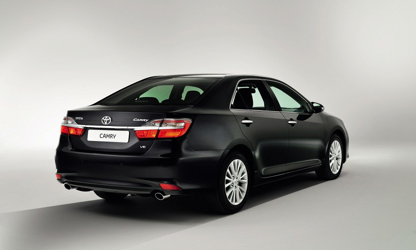 Toyota Gives 2015 Camry a Facelift for Russia