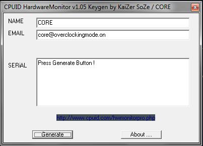 cpuid hwmonitor pro 1.38 key