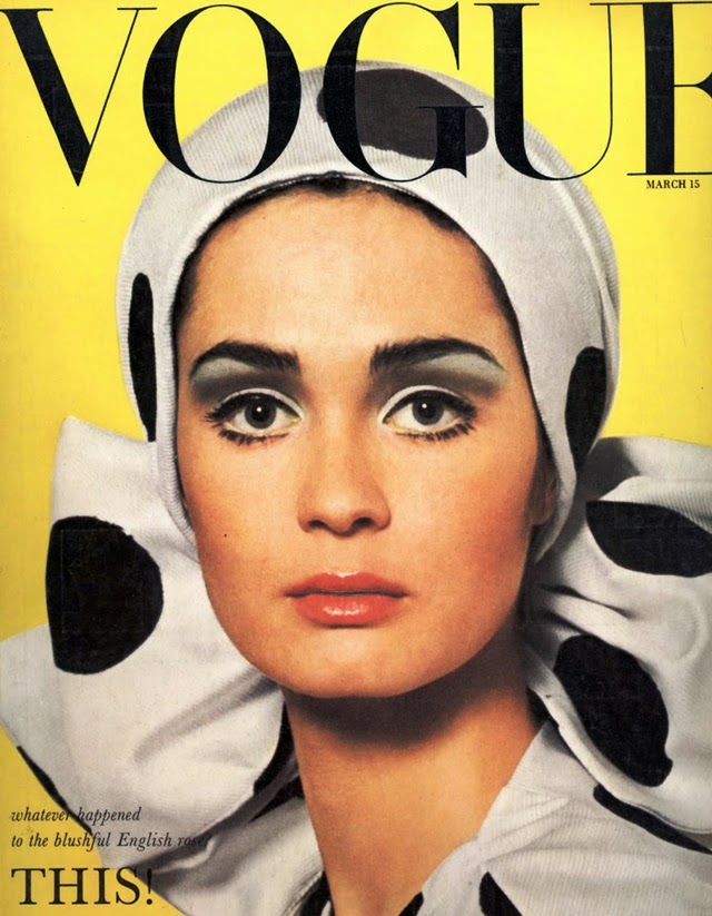 1960 39 s vogue covers vintage everyday for Old magazines