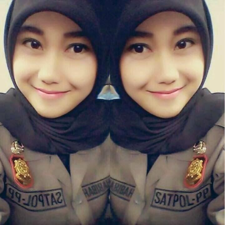 Satpol PP Cantik Nurul Habibah