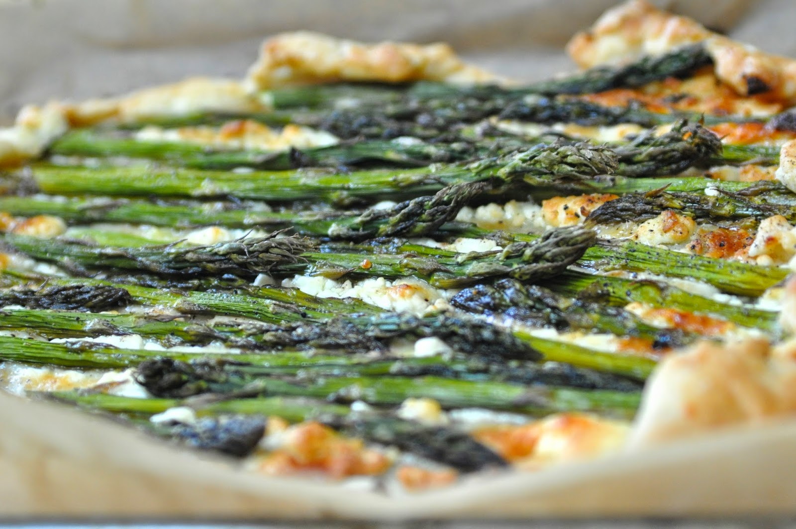 Asparagus, Potato, and Spinach Galette advise