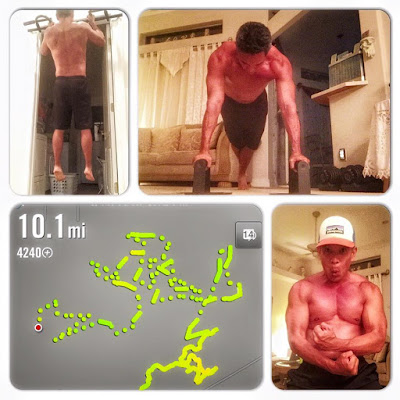 P90X Marathon Training - Nike Running App - P90X and Running - Marathon Training