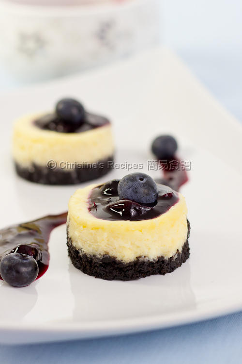 Mini Blueberry Cheesecakes01