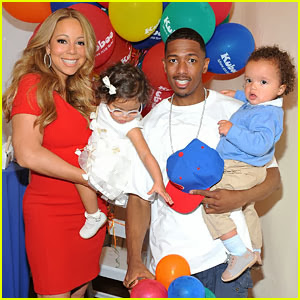 Welcome To Ajetun's Blog: I'm Not Having Any More Kids ... Nick Cannon And Mariah Carey Pregnant Pictures