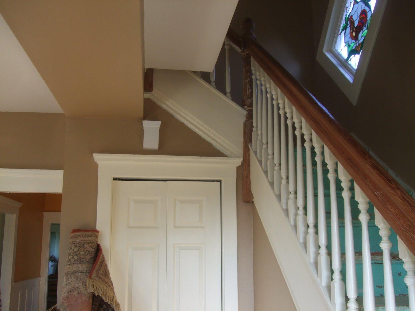 The smiths trim around window under stairs top of doors for Door under stairs
