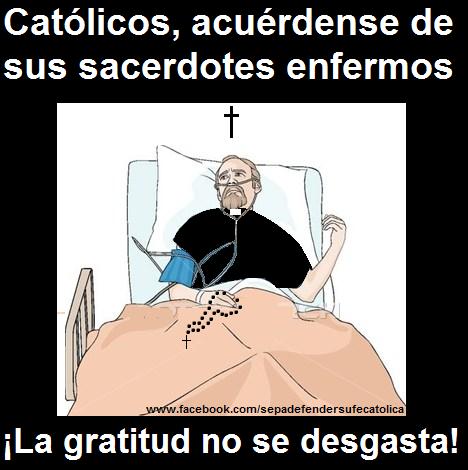 Orar por los enfermos