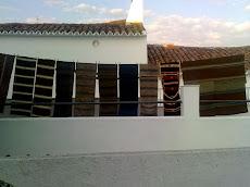 Alforjas tejidas artesanalmente. Encinasola