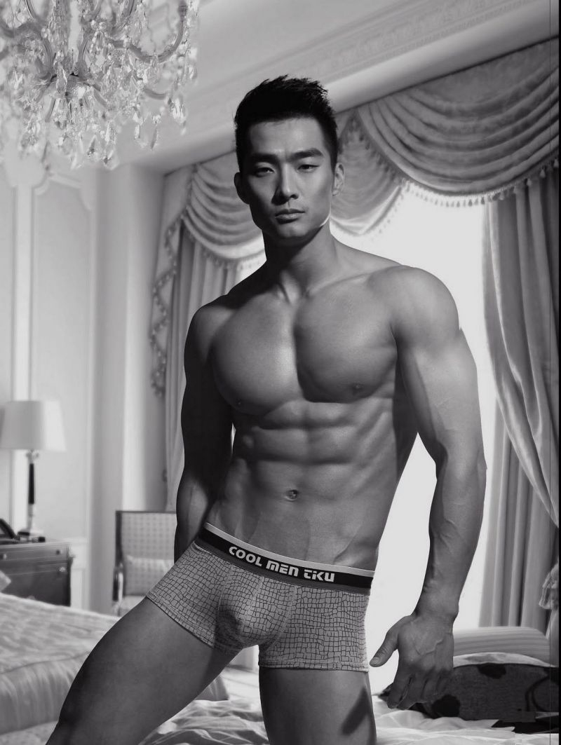 Chinese men naked black