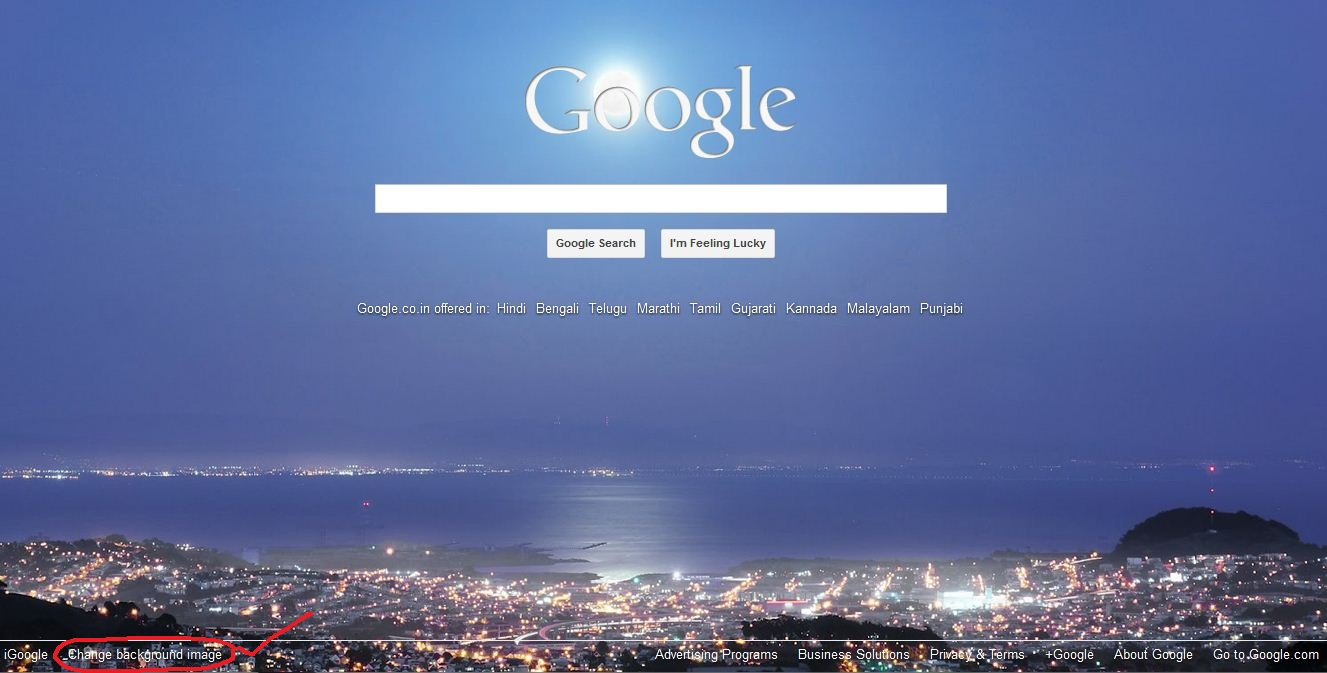Bing provides awesome background images to your google for Homepage wallpaper