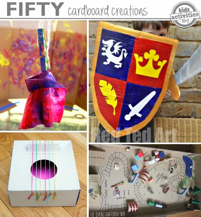 50 Things you can do with a Card Board Box