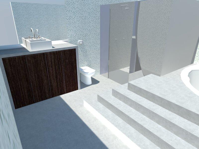 Modelando um Banheiro! ~ BrunoSketchup -> Pia Para Banheiro Sketchup
